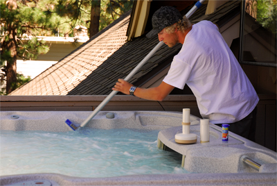 Weekly Hot Tub Service in Lake Tahoe